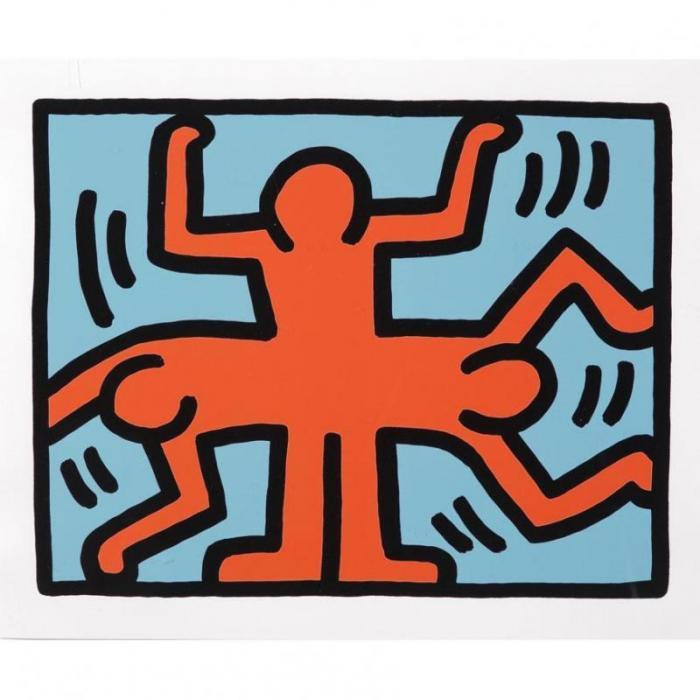 Keith Haring-KeithHaring - Pop Shop VI (1)-1989