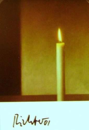 Gerhard Richter-Kerze (Candle)-2001