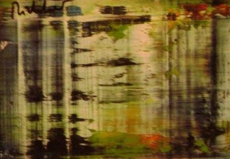 Gerhard Richter-Abstraktes Bild (Abstract Painting)-