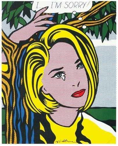 Roy Lichtenstein-I... Im sorry-