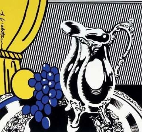 Roy Lichtenstein-Cubist Still Life with Lemons-