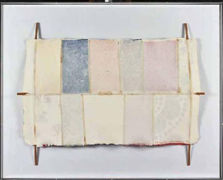 Robert Rauschenberg-Robert Rauschenberg - Bones and Unions : Hard Eight-1975
