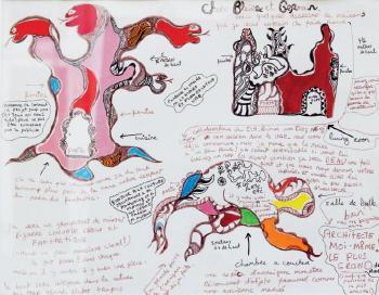 Niki de Saint Phalle-Chers Blaise et Germain-