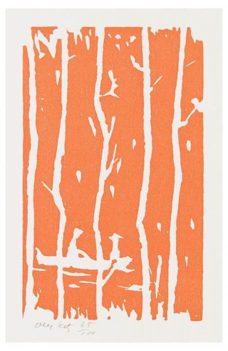 Alex Katz-Maine Landscape II-2005