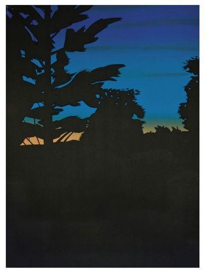 Alex Katz-Twilight II-1978