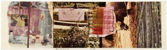 Robert Rauschenberg-Robert Rauschenberg - Chinese Summerhall V (From Studies for Chinese Summerhall)-1984