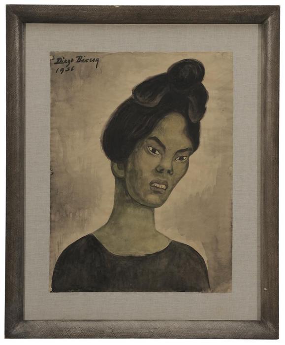 Diego Rivera-Portrait of a Woman-1936