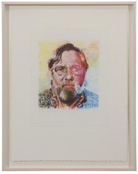 Chuck Close-John-1991