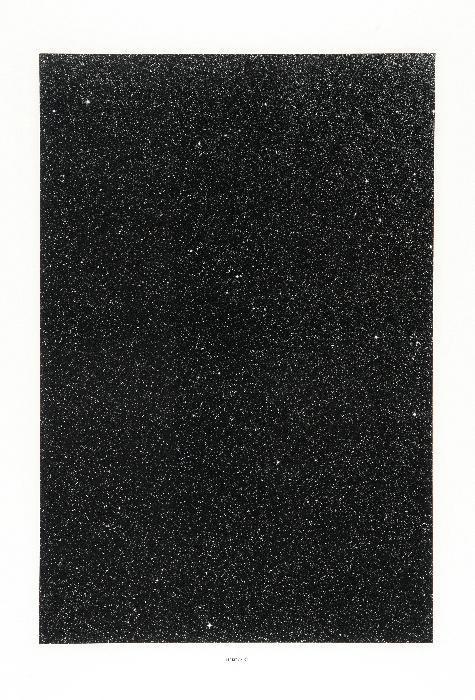 Thomas Ruff-18H 12M / 40 degrees - Sterne-1990