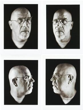 Chuck Close-Self Portrait-2002