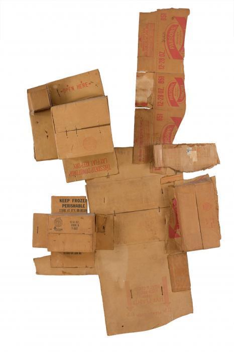 Robert Rauschenberg-Robert Rauschenberg - Parsons' Live Plants Ammonia (Cardboard)-1971