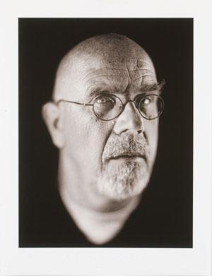 Chuck Close-Self portrait / Autoritratto-2002