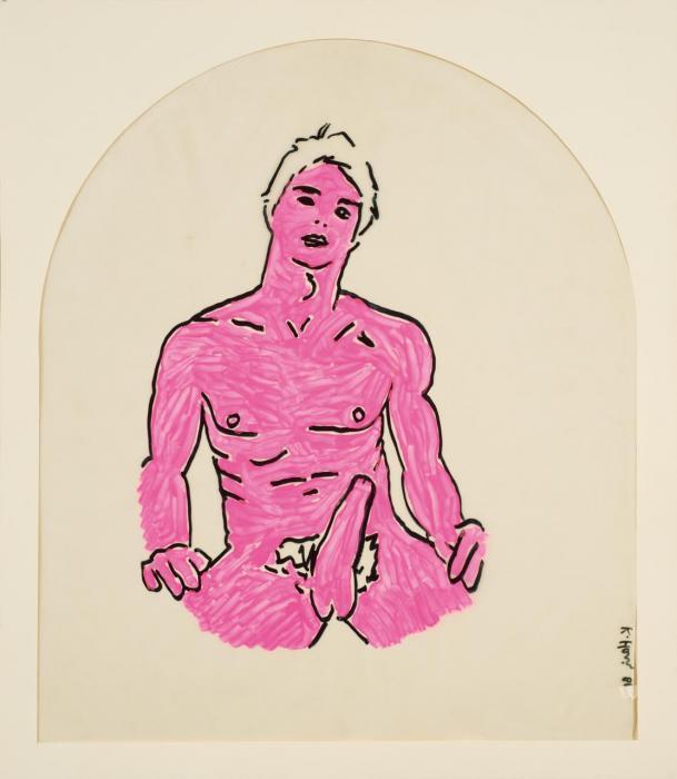 Keith Haring-Keith Haring - Senza titolo-1981