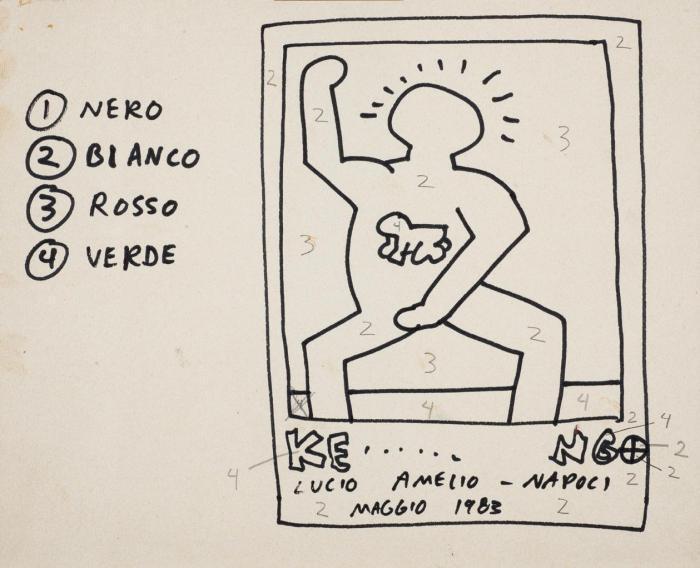 Keith Haring-Keith Haring - Italia 83. Italia 83-1983
