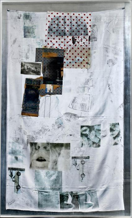 Robert Rauschenberg-Robert Rauschenberg - Untitled (From The Hoarfrost Series)-1974