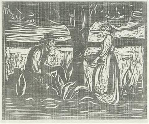 Edvard Munch-Fruktbarhet-1900