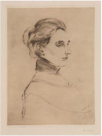 Edvard Munch-Fru Marie Linde (Mrs Marie Linde)-1902