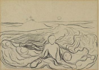 Edvard Munch-Golgata-