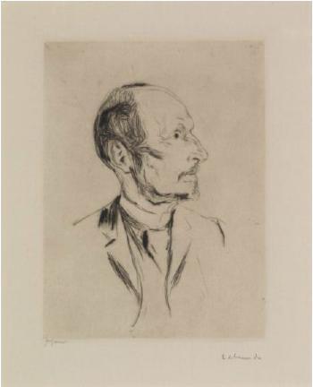 Edvard Munch-Albert Kollmann-1902