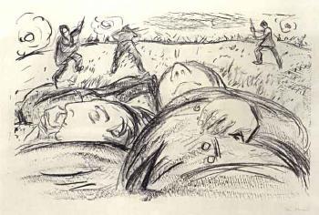 Edvard Munch-I Krigen (During the War)-1929