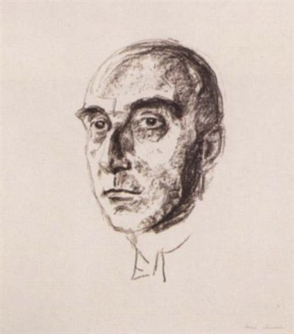Edvard Munch-Museumsdirektor Ludwig Justi-1927