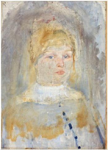 Edvard Munch-Dagny Konow-1885