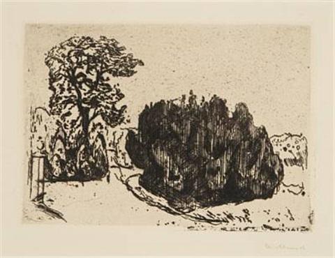 Edvard Munch-Aften i parken-1903