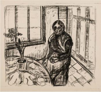 Edvard Munch-Melankoli / Melancholy-1930