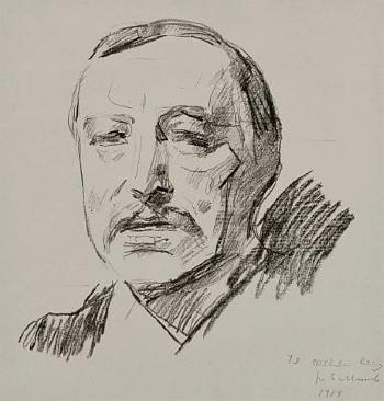 Edvard Munch-Thorvald Stang II-1912