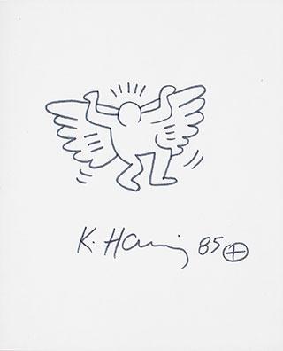 Keith Haring-Keith Haring - Angel-1985