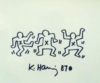 Keith Haring-Keith Haring - Three dancers-1987