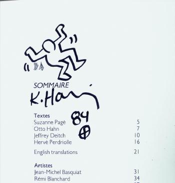 Keith Haring-Keith Haring - Dancer-1984