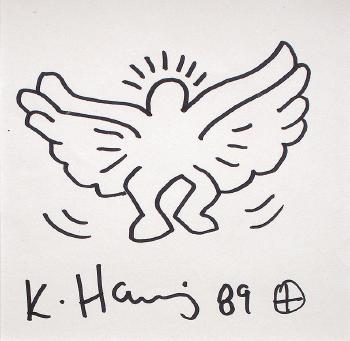 Keith Haring-Keith Haring - Windsurfer-1989
