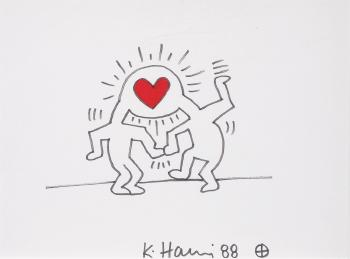 Keith Haring-Keith Haring - Le coup de foudre-1988