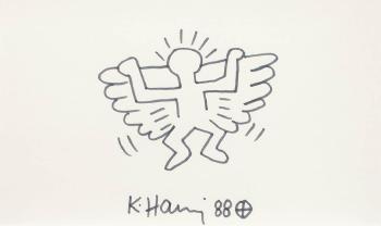 Keith Haring-Keith Haring - Angel-1988