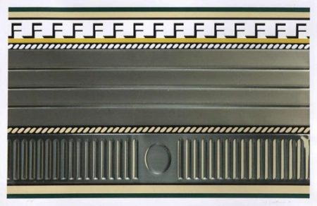 Roy Lichtenstein-Entabature III-1976