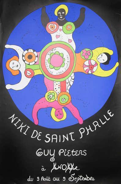 Niki de Saint Phalle-Nana Fontaine, (Les Baigneuses)-