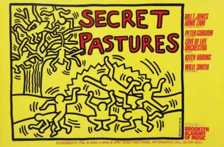 Keith Haring-Keith Haring - 'Secret pastures'-1984