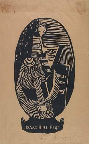 Roy Lichtenstein-Isaac Hull Esq-1953