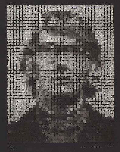 Chuck Close-Keith III-1981