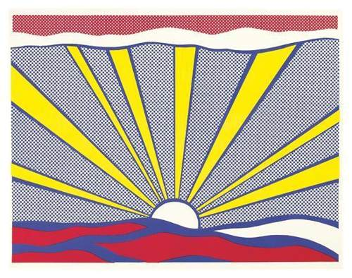 Roy Lichtenstein-Sunrise-1965