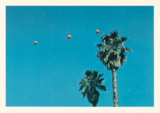 John Baldessari-Throwing Three Balls in the Air to Get a Straight Line-1973