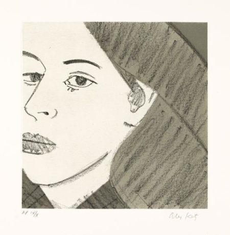 Alex Katz-Untitled / From Light as Air-1987