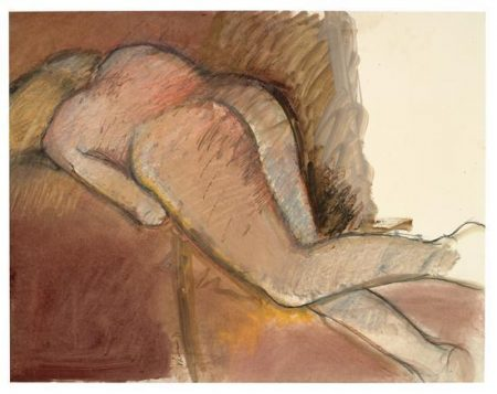 Richard Prince-Reclining Nude Seen From Behind-1973