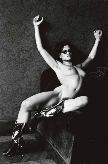 Helmut Newton-Two photographs of Lisa Lyon in Paris-1970