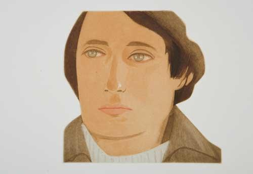 Alex Katz-Face of the Poet-1978