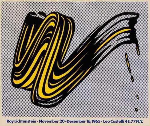 Roy Lichtenstein-Exhibition Posters-1967