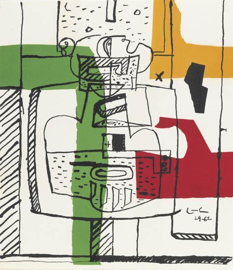 Le Corbusier-Suite de Dessins-1962