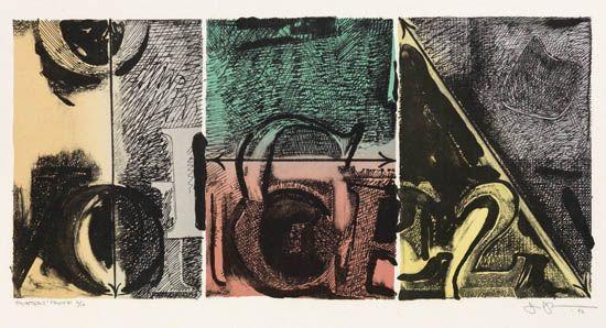 Jasper Johns-Voice 2-1982