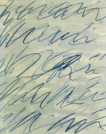 Cy Twombly-Roman Notes III-1970